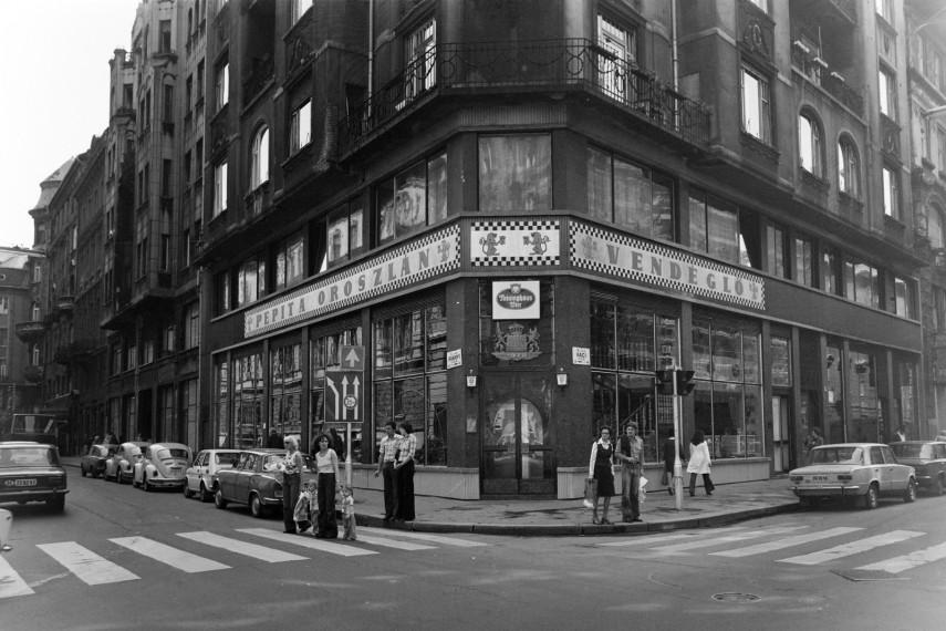 1978, Irányi utca a Váci utcánál, 5. kerület