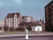 1955, Széna tér a Csalogány utca torkolatánál, 2. kerület