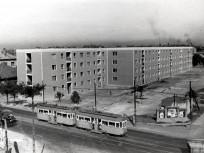 1957, Thököly út a Róna utcánál, 14. kerület