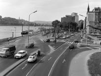 1979, Március 15_ tér, az Apáczai Csere János utca felé nézve,, 5. kerület