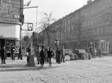 1948, Üllői út a József körútról kifelé nézve, 8. és 9. kerület