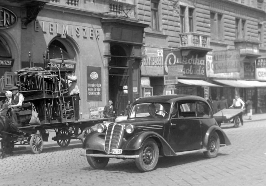 1951, Baross tér, 7. kerület