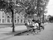1952, Élmunkás (Lehel) tér, 13. és 6. kerület