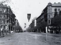 1921, Andrássy út a Hajós utcánál, 6. kerület