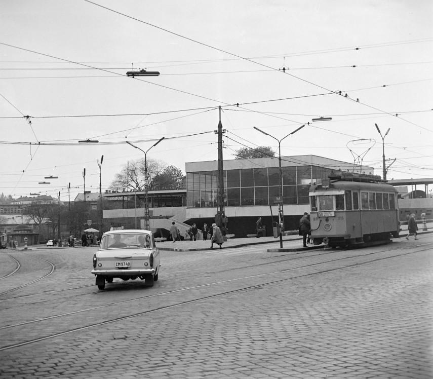 1965, Alkotás utca a Krisztina körútnál, 1. kerület