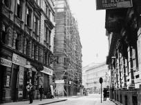 1935, Wesselényi utca a Dohány utca felé nézve, 7. kerület