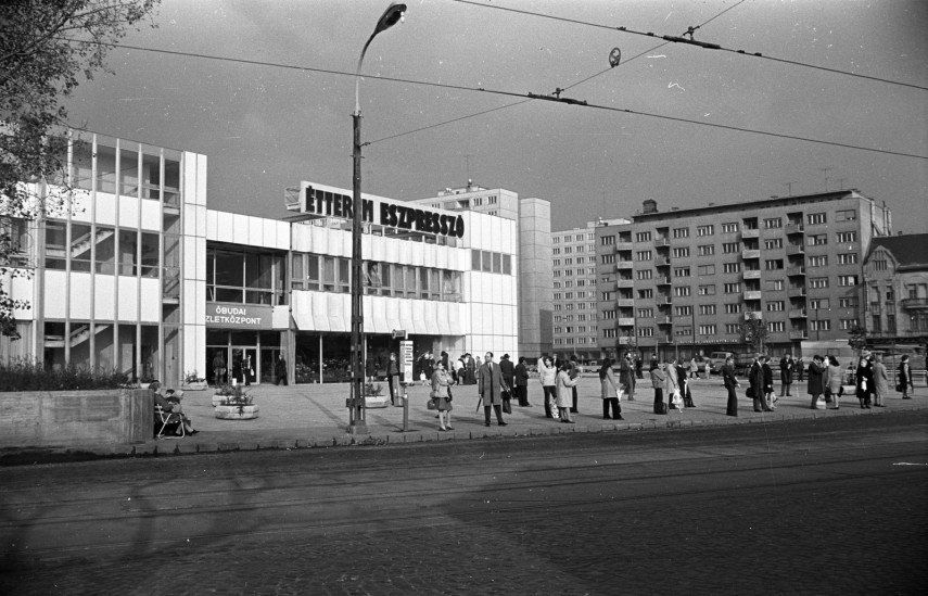 1980, Flórián tér, 3. kerület