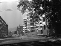 1966, Bessenyei utca a Váci út felől, 13. kerület