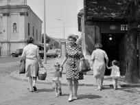 1977, Szépvölgyi út a Kolosy térnél, 2. és 3. kerület