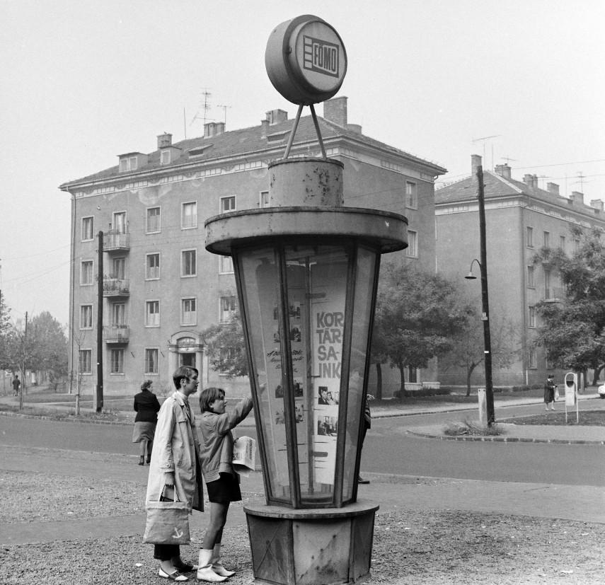 1968, Thälmann (Fiastyúk) utca, 13. kerület