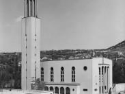 1940, Pasaréti tér, Pasaréti Páduai Szent Antal templom, 2. kerület