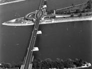 1963, Árpád híd felülről, 3. és 13. kerület