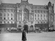 1907, Ferenc József tér, a Gresham palota újonnan