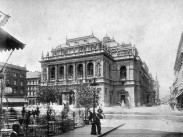 1906 táján, Andrássy út, 6. kerület