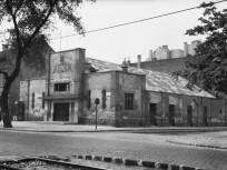 1960 táján, Váci út és a Turbina utca sarok, 13. kerület