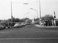 1965, Margit híd, a szigeti lejáró, 13. kerület