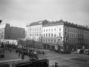 1953, a Rákóczi út, a Nagykörútnál, 7. kerület
