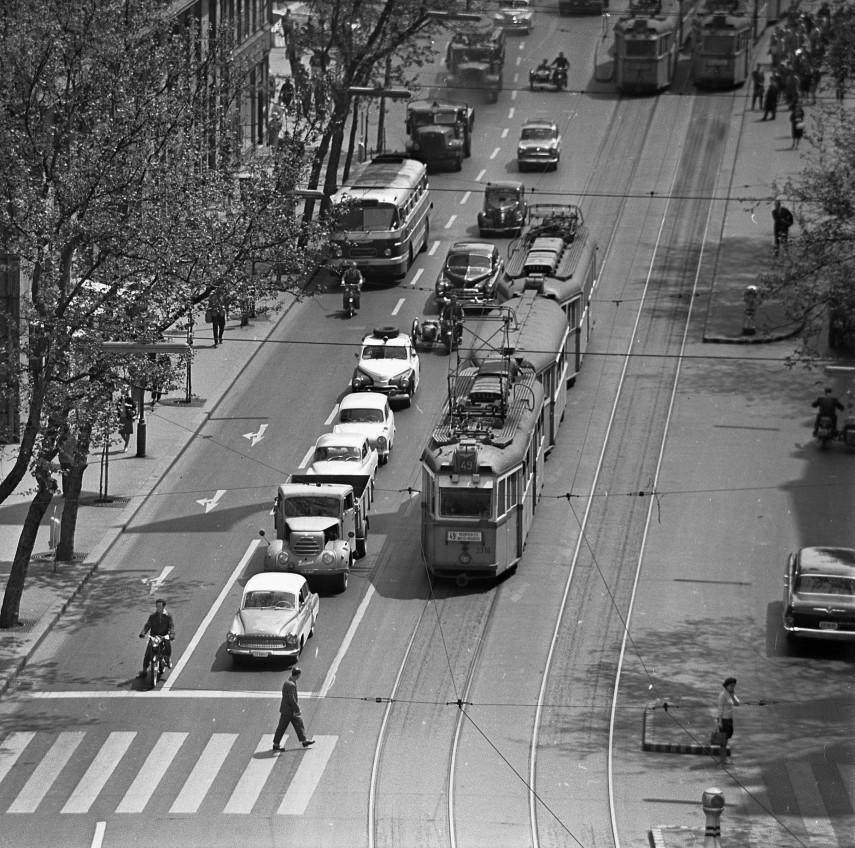 1964, Tanács (Károly) körút, 7. kerület