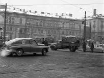 1965, Marx (Nyugati) tér a Bajcsy-Zsilinszky út felől, 6. kerület