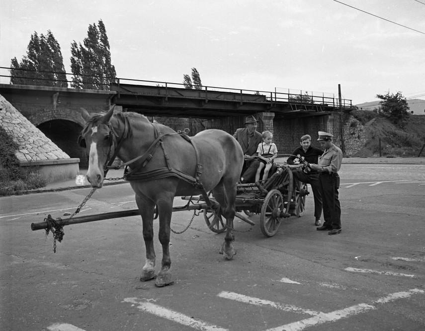 1972, Pók utca a Szentendrei útnál, 3. kerület