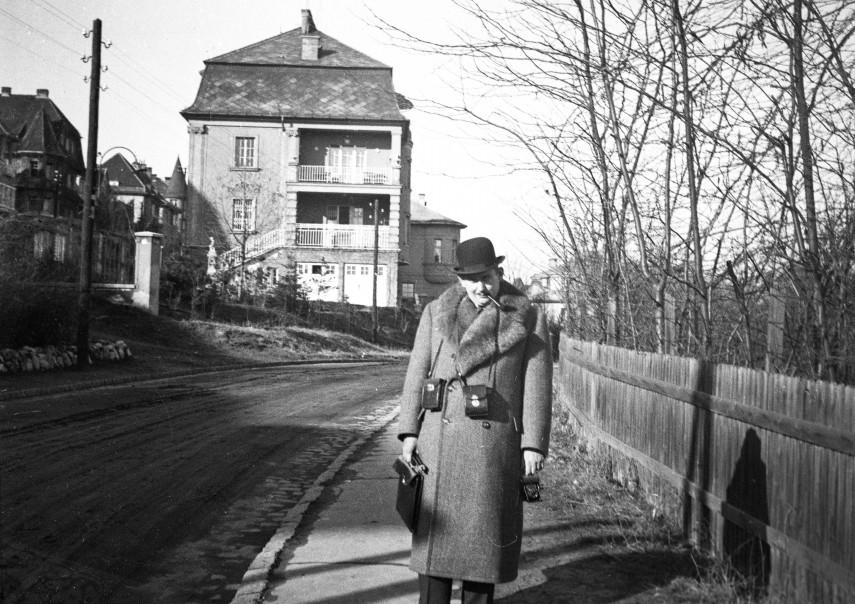 1934, Roskovics utca, balra a Ráth György utca házai