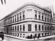 1895 táján, Baross utca - Mária utca sarok, 8. kerület