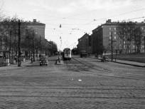 1960, az Árpád út a Váci útnál, 4. kerület
