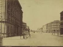 1878 körül, Sugár (Andrássy) út, 6. kerület