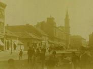 1873 táján, Grosse Feld Gasse (Nagymező utca), 6. kerület