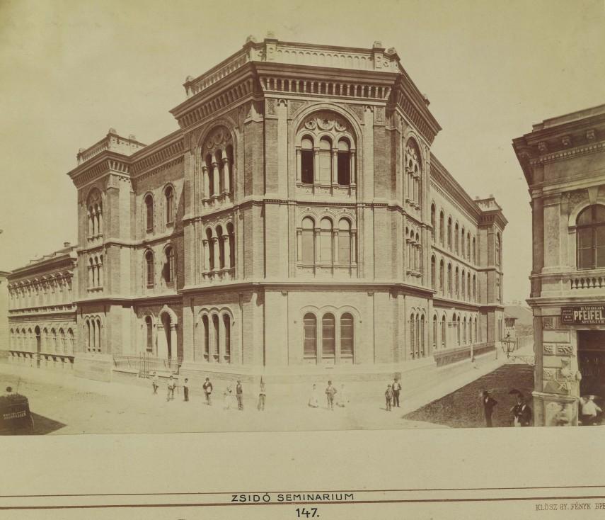 1890 táján, Főherceg Sándor (Gutenberg) tér, 8. kerület