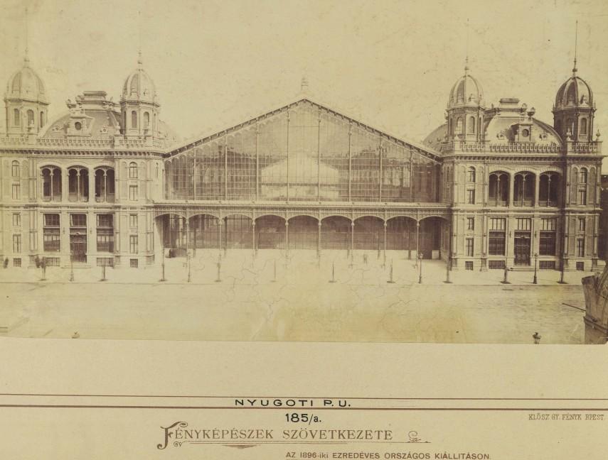 1878 táján, Vas utca (Eisen Gasse), Teréz körút, 6. kerület