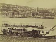 1880-táján, Pesti alsó rakpart (Jane Haining rakpart), 4. (1950-től 5.) kerület