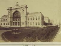 1884, Kerepesi út, a későbbi Baross tér és a Keleti pályaudvar, 8. kerület