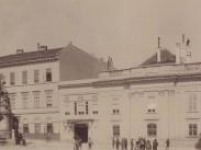 1890 után, Szentháromság tér és a Szentháromság-szobor