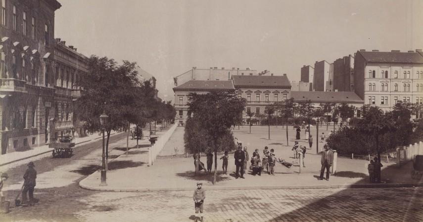 1894 táján, Almássy tér, 7. kerület