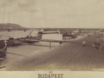 1890 táján, Rudolf (Pesti alsó) rakpart, 5. kerület