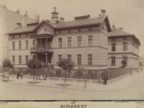 1890 után, Üllői út a Gólya (Bókai János) utcánál, 8. kerület
