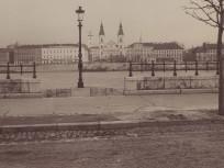 1890-es évek, FERENCZ JÓZSEF (Jane Haining) rakpart látképe, 4. (1950-től 5.) kerület