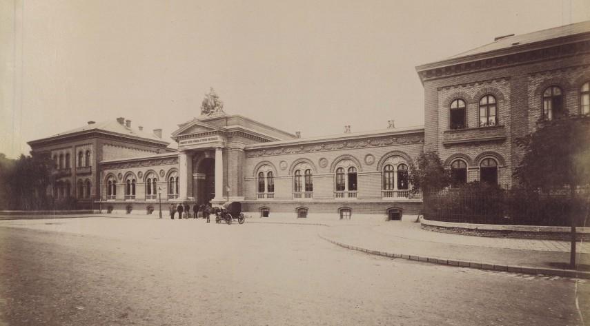 1890-es évek, Üllői út (Nagyvárad tér), 9. kerület