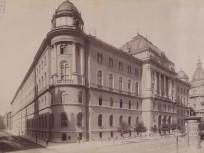 1896 táján, Alkotmány utca a Koháry (Nagy Ignác) utcánál, 4.(1950-től) 5. kerület