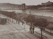 1890 táján, Rudolf (Széchenyi) rakpart, 4. (1950-től) 5. kerület