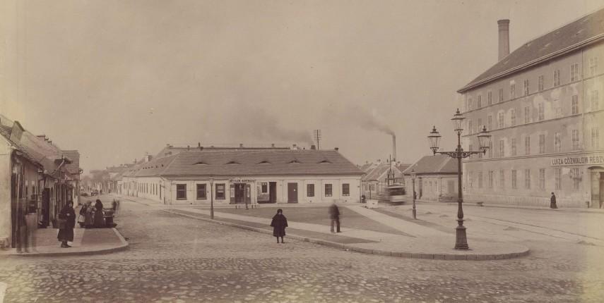 1890-es évek, Lajos utca, 3. kerület