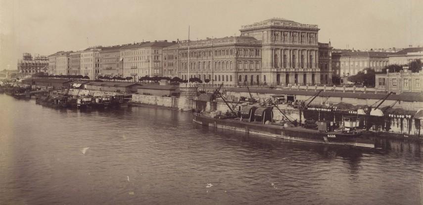 1894, Rudolf (Széchenyi) rakpart, 4. (1950-től 5.) kerület