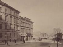 1890 után, Lánchíd tér (Clark Ádám tér), 1. kerület