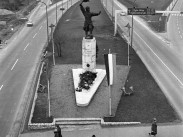 1970, a Balatoni út (M7) és a Budaörsi út elágazása, 11. kerület