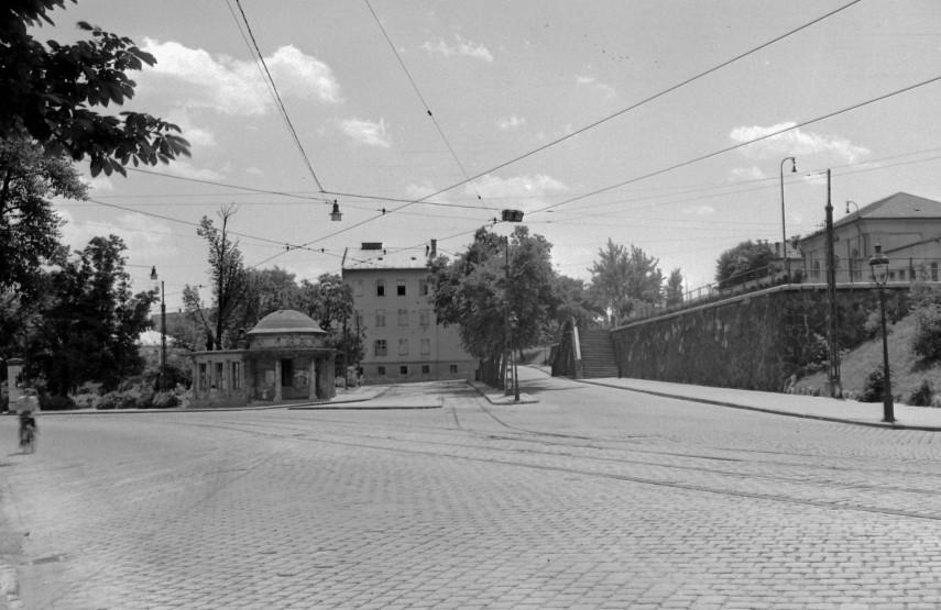 1952,  Krisztina körút a Kosciuszko Tádé utcánál, 1. kerület