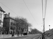 1968, Mexikói út a Korong utca felől a Thököly út felé nézve, 14. kerület