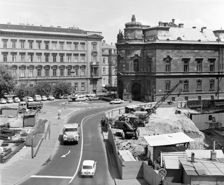 1974, Szabó Ervin tér, 8. kerület