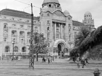 1963, Kelenhegyi út, a Gellért Gyógyfürdő és Uszoda, 11. kerület