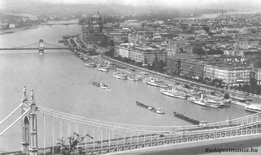 1933-1935, Régi Erzsébet híd, 5. kerület